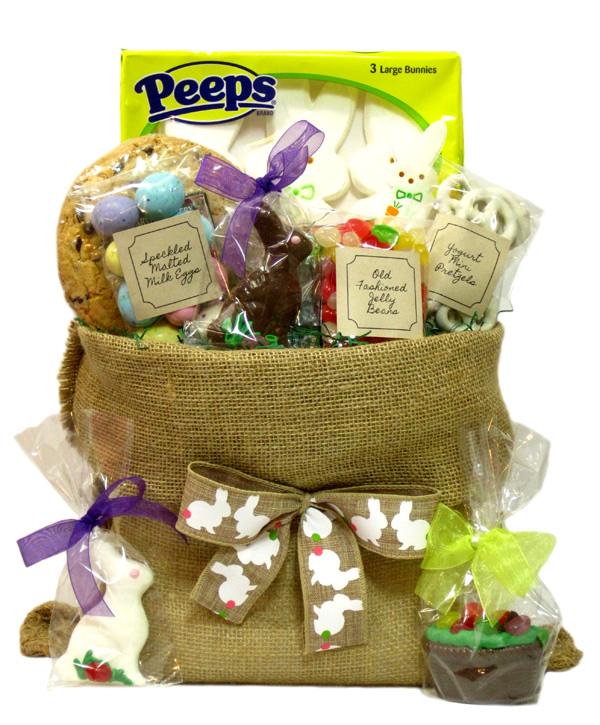 Anything in a blog all about gift baskets if you dont want another wicker basket gathering dust in your attic we also offer easter sacks negle Gallery